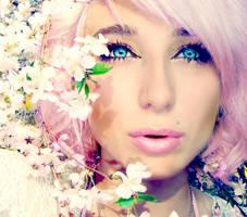 farbene Blume by xfallxoutxgirlsx