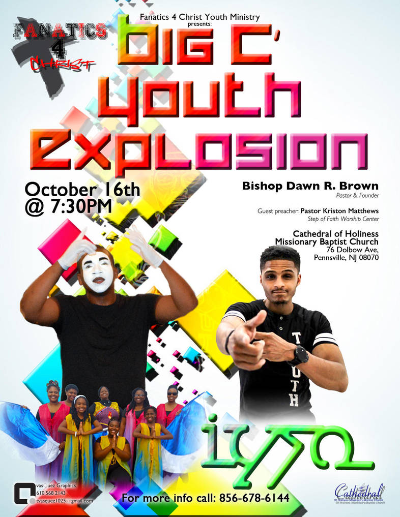 big c youth explosion flyer design by ridla86 on deviantart