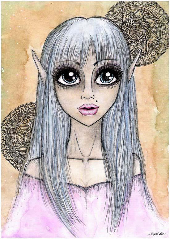magic elf by InesPeace
