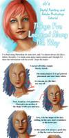 Blue Eyes - Tutorial by AshenCreative