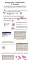 Inkscape Vector Flower Tutorial by sanjouin-dacapo