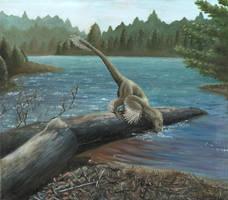 Sinornithosaurus by EWilloughby