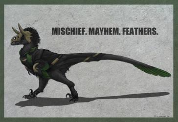 Loki Raptor! by EWilloughby