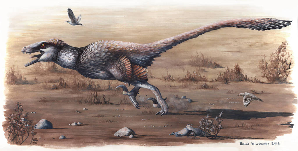 Dakotaraptor steini by EWilloughby