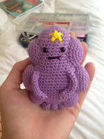 Lumpy Space Princess Amigurumi by estalfos