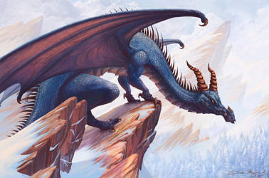 Blue Drake. by DanMaynard