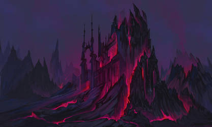 Lava Castle by DanMaynard