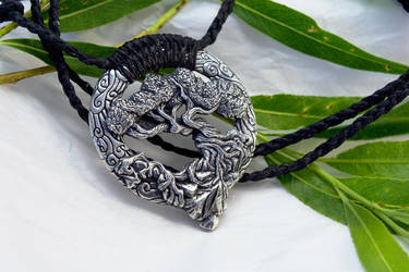 Tree Of Life Pendant by Cloud-Dragonz