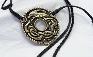 Spirit wolf Bronze by Cloud-Dragonz