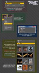 Creating Categories in DAZ Studio by SnowSultan