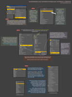 Customizing DAZ Studio Interface: Menus by SnowSultan