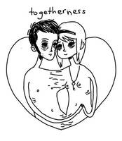 be-togetherness. by boobookittyfuck