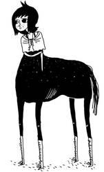 centaurette. by boobookittyfuck