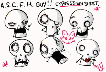 ASCFH-GUY - is series of face by boobookittyfuck