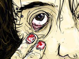 m'eye. by boobookittyfuck