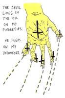 fingertip-drips. by boobookittyfuck