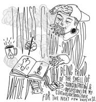 chain-smoking. by boobookittyfuck