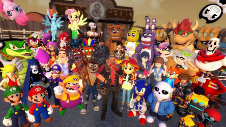 The Return of Huge Group Picture by OudieTH
