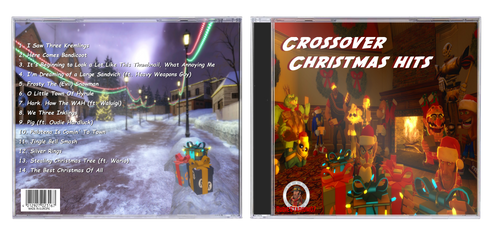Crossover Christmas CD by OudieTH