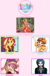 My Doki Doki Literature Club Cast by OudieTH