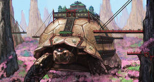 A Very Big Tortoise by R-Tan