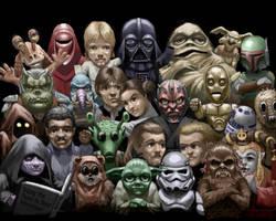 Star Wars Buddies by R-Tan