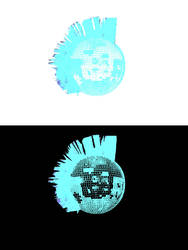 Mohawk Disco Ball (Blue Double) by andersstereo