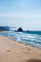Cannon Beach Summer by Thundercatt99