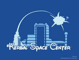 Kerbal Space Center, Happiest Launch Pad on Kerbin by jeffmcdowalldesign