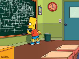 Bart Simpson - Agents of SHIELD alien writing by jeffmcdowalldesign