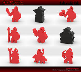 Orc Meeples by jeffmcdowalldesign