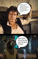 Rocket and Han by Big-bad-Rocket