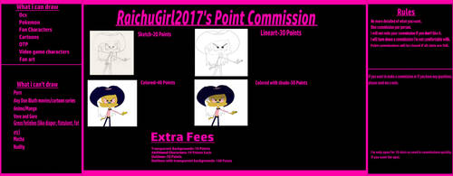 RaichuGirl2017's Art Point Commission [Open] by TFFanGirl2011