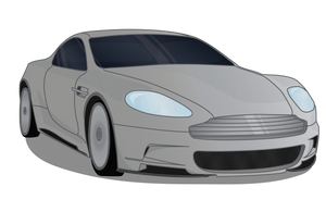 Aston Martin DB9 Vector by romansiii