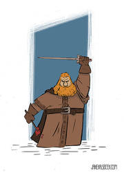 Godric Gryffindor by JakeKalsbeek
