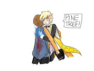 Pinetree! Don't Die ! by MyaChanPika