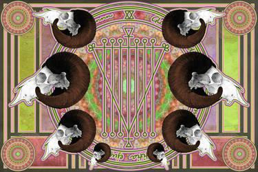 Goat Sigil by newagelove