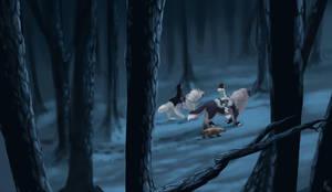 Moonlit Forest by lightningspam