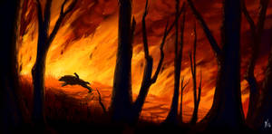 Rite of Courage: Wildfire by lightningspam
