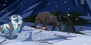 Taming: Snowfall by lightningspam