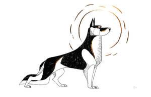 Dog A Day 4: German Shepherd by lightningspam