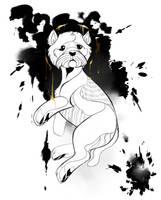 Dog A Day 6: Western Highland Terrier by lightningspam