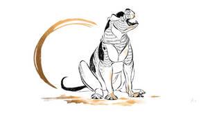 Dog A Day 9: American Bulldog by lightningspam