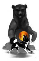 Dog A Day 11: Karelian Bear Dog by lightningspam