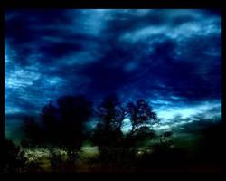 Sky so blue.. by insaneone