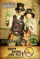 Steampunks drink Green Goblin by Nedliv