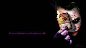 Black Lotus Joker - Wallpaper by Nedliv