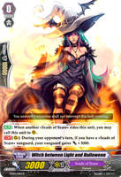 Witch between Light and Halloween - Vanguard Card by Nedliv