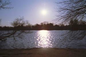 Sunset on The Lake by Vigorousjammer