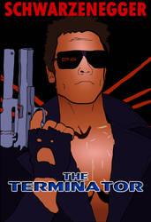 Movie Poster Illustrations: The Terminaor by Vigorousjammer